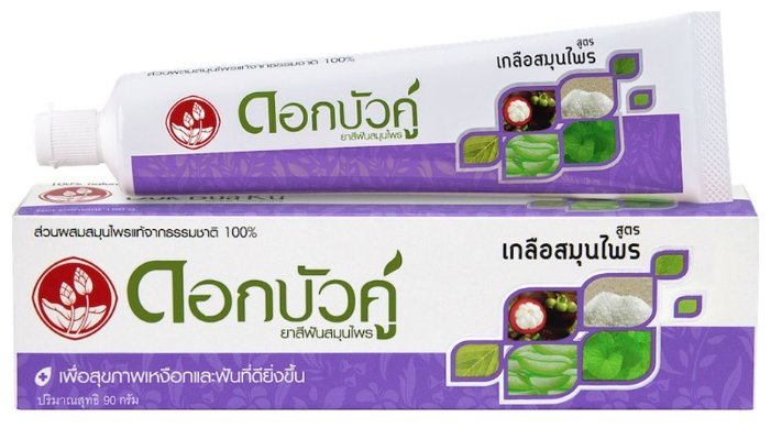 Зубная паста Twin Lotus Herbal С солью — купить по выгодной цене на Яндекс.Маркете