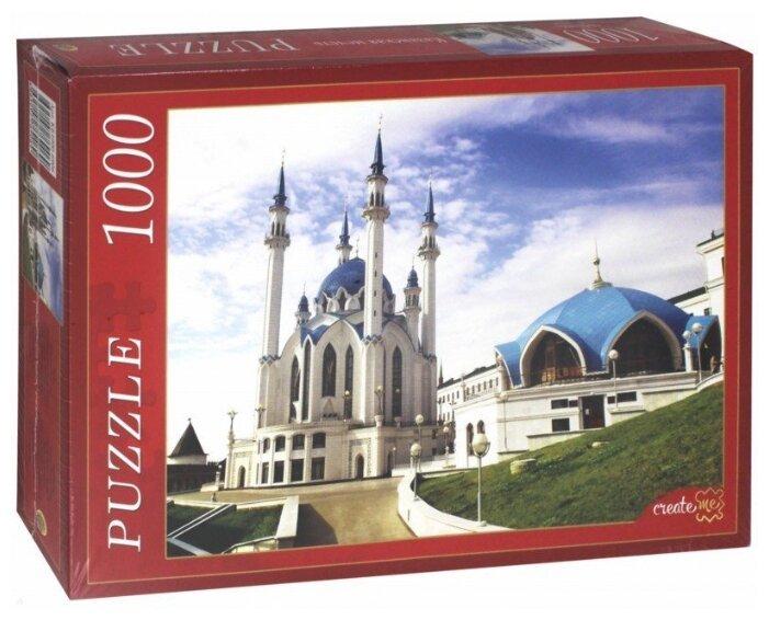 Пазл Рыжий кот Казанская мечеть (КБ1000-6906), 1000 дет.