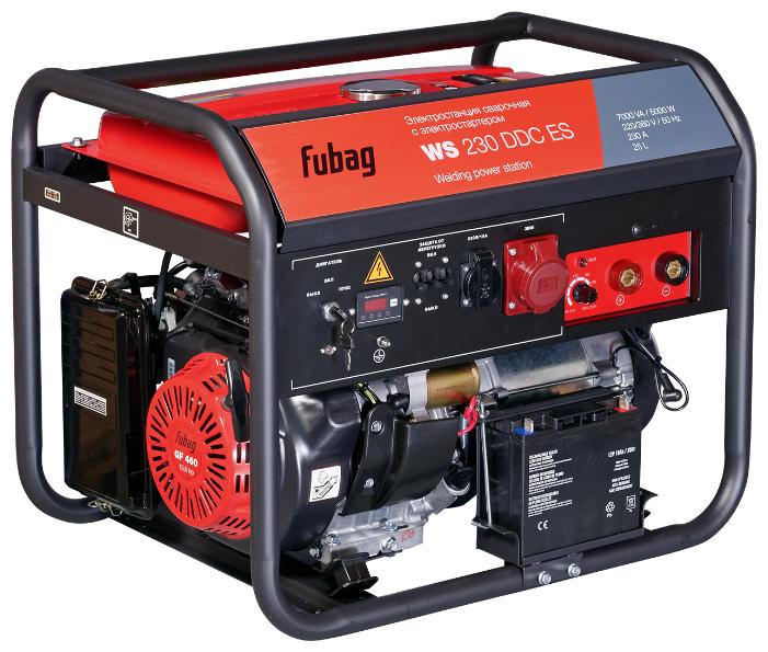 Бензиновый генератор Fubag WS 230 DDC