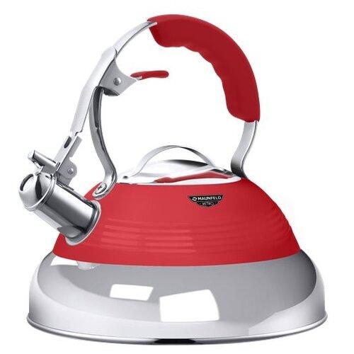 Фото - MAUNFELD Чайник MRK-119 3 л красный endever чайник aquarelle 301 302 303 3 л красный