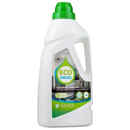 БиоМикроГели Универсальное моющее средство для любых поверхностей EcoUni Gel концентрат 1 л