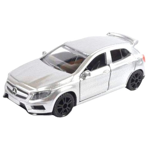 Легковой автомобиль Siku Mercedes-Benz GLA 45 AMG (1503) 1:55 8 см серебристый siku автобус mercedes benz travego