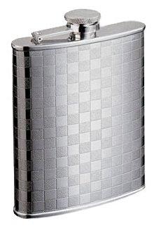 Фляга S.Quire 0.24 литра, сталь, серебристая - S.QUIRE