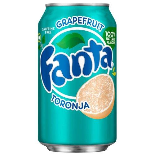 Газированный напиток Fanta Grapefruit, США, 0.355 л
