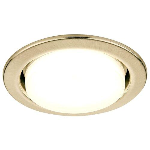 Встраиваемый светильник Ambrella light G101 SB, бронза встраиваемый светильник ambrella light classic 120090 sb
