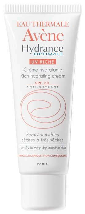 AVENE Hydrance Optimale UV20 Riche Увлажняющий крем