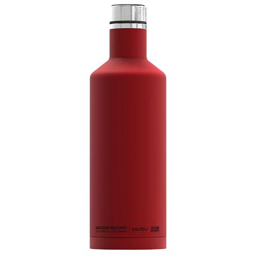 Термобутылка Asobu Times square travel bottle, 0.45 л red