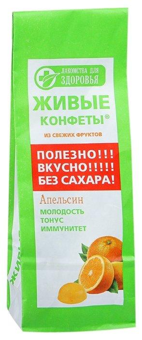 """Мармелад Лакомства для здоровья Живые конфеты """"Апельсин"""" 170 г"""