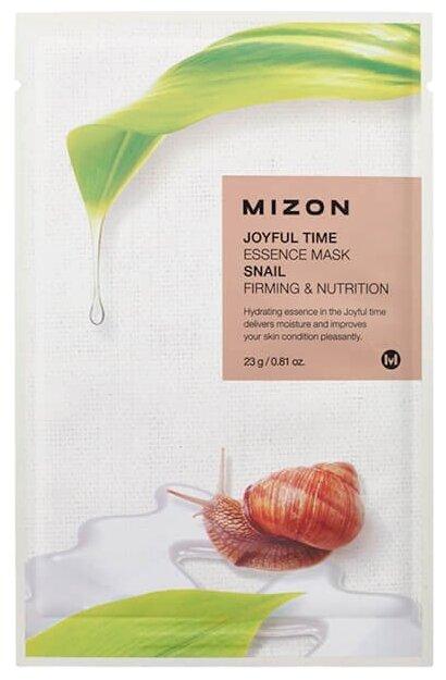 Mizon Joyful Time Essence Mask Snail тканевая маска с экстрактом улиточного муцина