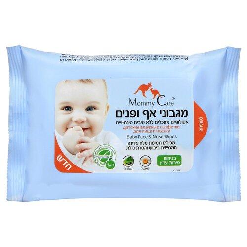 Влажные салфетки Mommy Care Для лица и носика 24 шт.