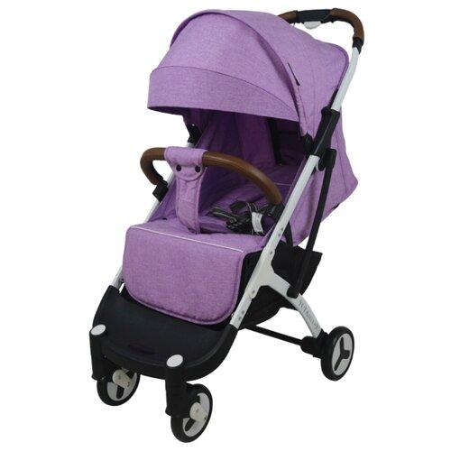 Купить Прогулочная коляска Yoya Plus 3 purple/white frame, цвет шасси: белый, Коляски