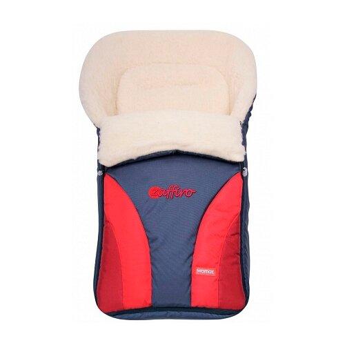 Купить Конверт-мешок Womar Crocus в коляску 90 см 4 красный, Конверты и спальные мешки
