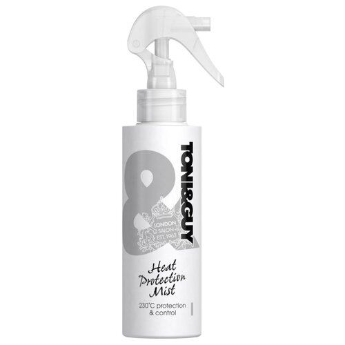 Toni & Guy Cпрей-дымка для укладки волос Heat protection mist, 150 мл proffs ocean mist средство для укладки волос 150 мл