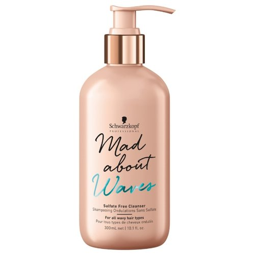 MAD ABOUT шампунь Waves Sulfate Free Cleanser 300 мл с дозатором mad about ponies