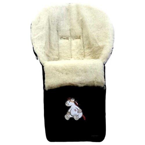 Купить Конверт-мешок Womar Aurora в коляску 95 см 12 черный, Конверты и спальные мешки