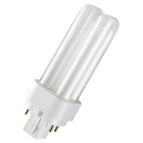 Лампа люминесцентная OSRAM Dulux D/E 840, G24q-3, T11, 26Вт лампа corepro led plc 9w 840 4p g24q 3
