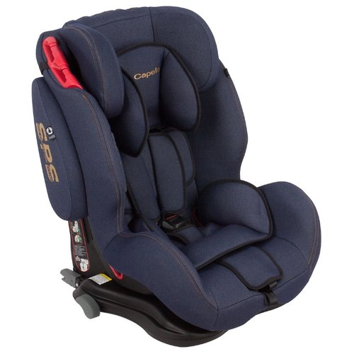 Автокресло группа 1/2/3 (9-36 кг) Capella S12312i Isofix (SPS), jeans blue автокресло группа 1 2 3 9 36 кг little car ally с перфорацией черный