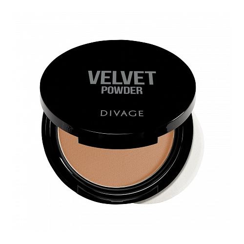 DIVAGE Velvet пудра компактная 5202 фото