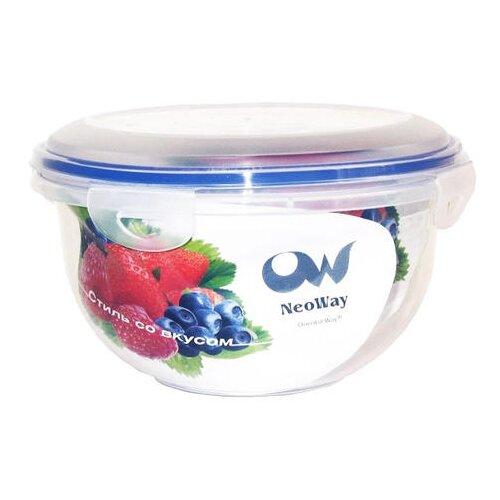 Oriental Way Контейнер круглый для СВЧ NeoWay Enjoy YP1029A синий