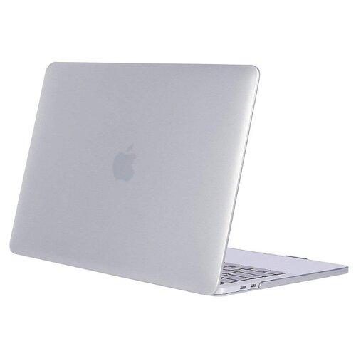 Купить Чехол-накладка UVOO пластиковая накладка для Macbook Pro 15 Retina (2017) | с покрытием Soft-Touch прозрачный