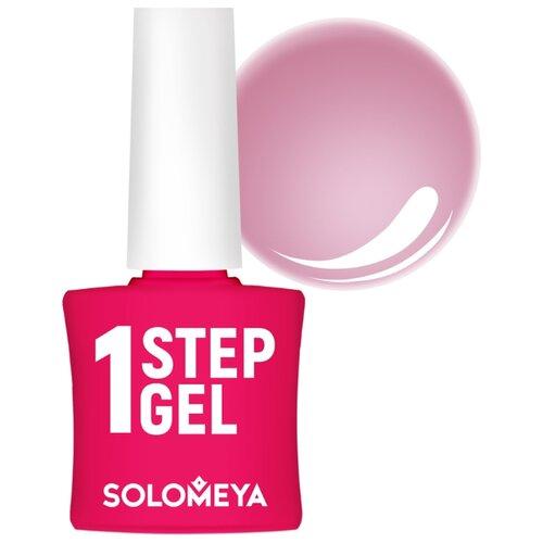 Гель-лак 3 в 1 Solomeya One Step Gel, 5 мл, Бархат 7  - Купить