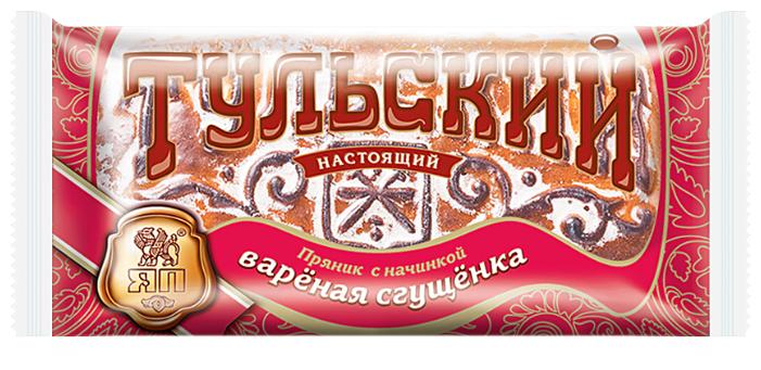 Тульский пряник с начинкой вареная сгущенка, Ясная Поляна, 140 гр.