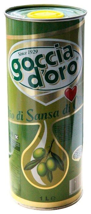Goccia d`oro Масло оливковое рафинированное, жестяная банка