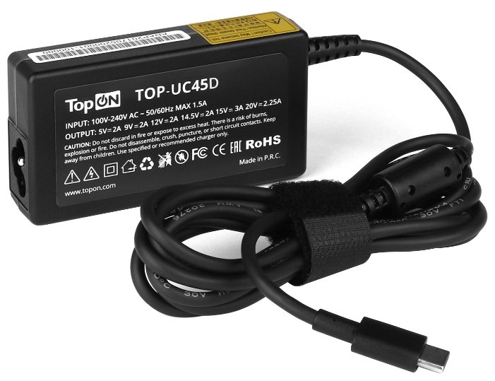 Блок питания TopON TOP-UC45D для HP