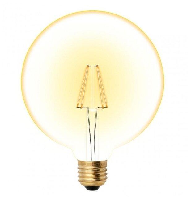 Светодиодная лампа Uniel 8Вт, LED-G125-8W/GOLDEN/E27 GLV21GO 680Лм 2200К (UL-00002358)