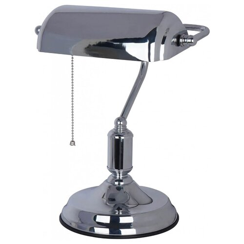 Настольная лампа Arte Lamp Banker A2494LT-1CC, 40 Вт arte lamp настольная лампа creazione a2245lt 1bl