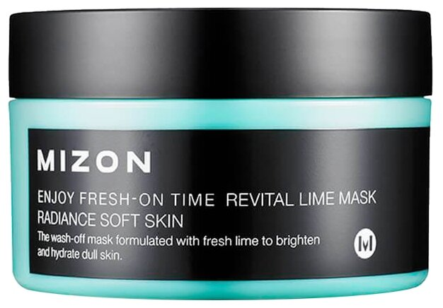 Mizon Enjoy Fresh-On Time Revital Lime Mask маска с экстрактом лайма