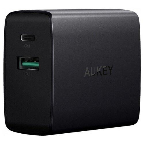 Купить Сетевая зарядка Aukey PA-Y9 черный