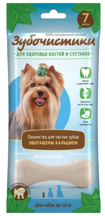 Лакомство для собак Зубочистики с кальцием для мелких пород