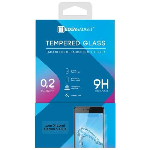Защитное стекло Media Gadget Tempered Glass для Xiaomi Redmi 5 Plus прозрачный