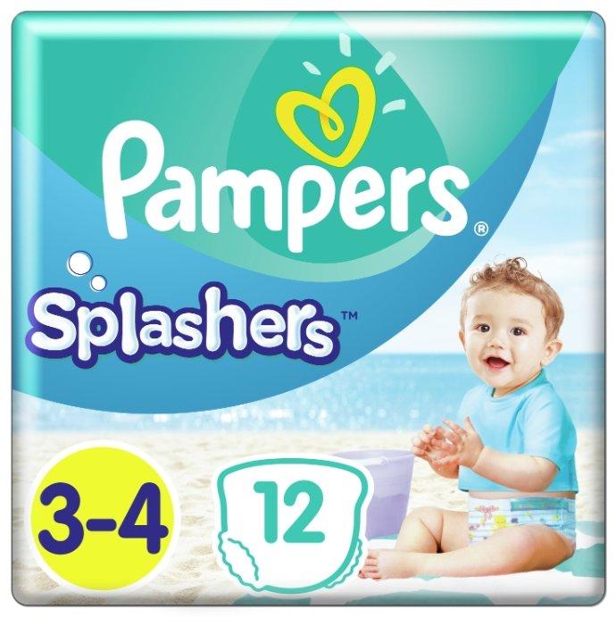 Pampers трусики Splashers (6-11 кг) 12 шт.