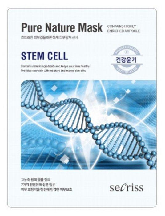 Secriss маска тканевая Secriss Pure Nature Mask Pack Steam Cell омолаживающая со стволовыми клетками