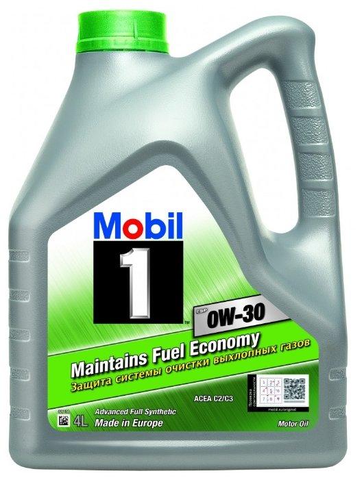 Моторное масло MOBIL 1 ESP 0W-30 4 л