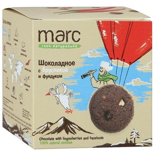 Печенье Marc Шоколадное с брусникой и фундуком, 150 гПеченье, крекер<br>