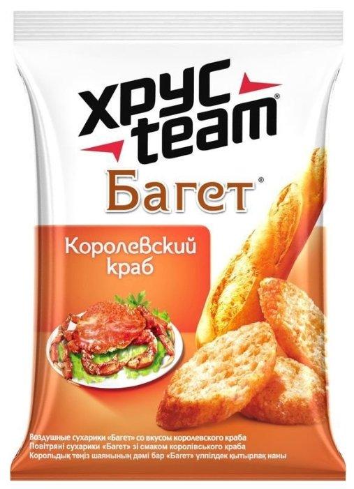 ХРУСteam Багет Королевский краб, 60 г