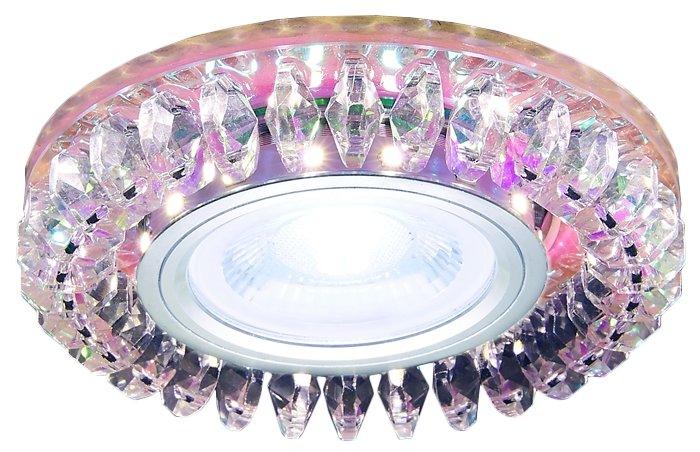 Встраиваемый светильник Ambrella light S220 PR, хром/перламутровый