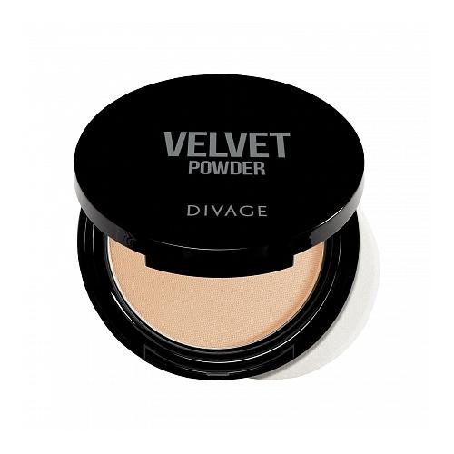 DIVAGE Velvet пудра компактная 5201 недорого