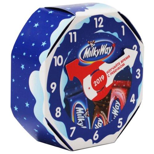 Набор конфет Milky Way Часы 96 г подарочный набор milky way кормушка 155 г