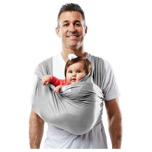 Купить Слинг-карман Baby K'tan Original grey XL, Слинги и накидки для кормления