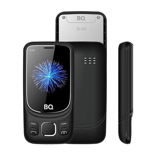 Телефон BQ 2435 Slide черный сотовый телефон bq 2435 slide black