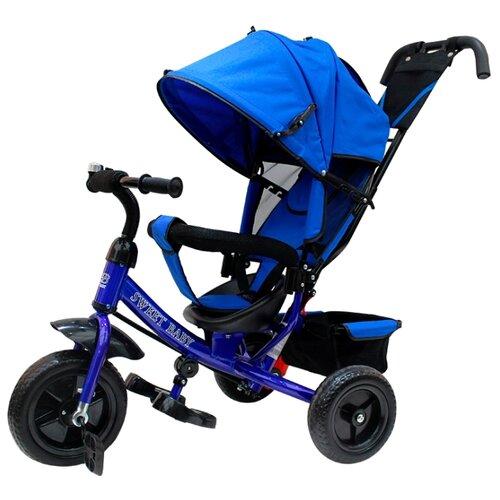 Купить Трехколесный велосипед SWEET BABY Mega Lexus Trike (8/10, EVA) blue, Трехколесные велосипеды
