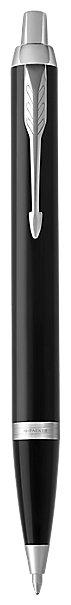 Ручка шариковая PARKER IM Core Dark Espresso CT, корпус кофейный лак, хромированные детали, синяя, 1931671
