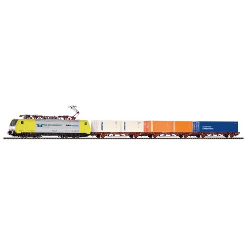 PIKO Стартовый набор Class 189, серия Hobby, 97916, H0 (1:87) piko стартовый набор грузовой поезд taurus серия hobby 57177 h0 1 87