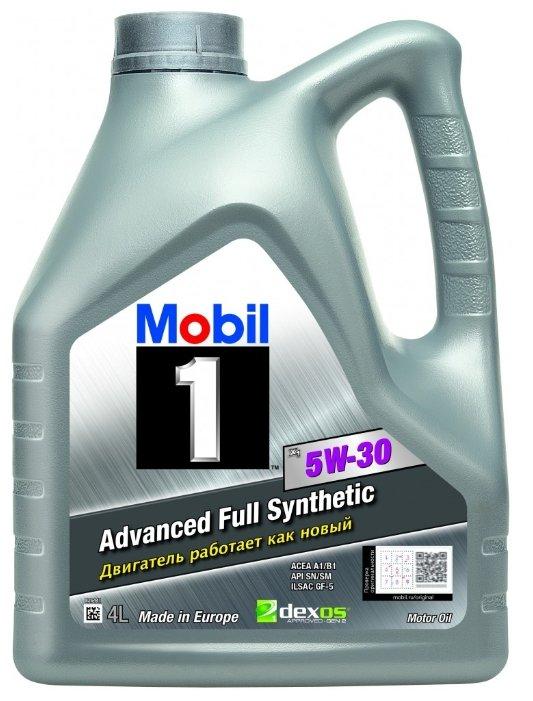 Mobil 1 Х1 5W-30 4л 152103 / 152721