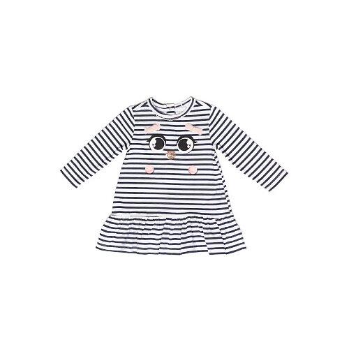 Туника Pixo размер 92, синий/белыйФутболки и рубашки<br>