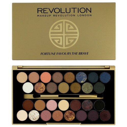 REVOLUTION Палетка теней 30 Eyeshadow Palette Fortune Favours The Brave the revolution københavn
